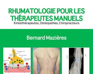 Rhumatologie pour les thérapeutes manuels